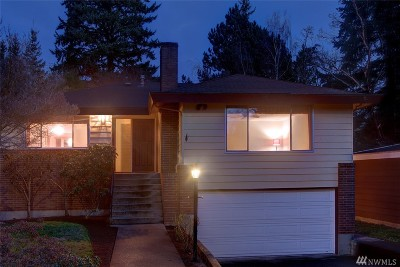 King County Single Family Home For Sale: 12226 Corliss Ave N
