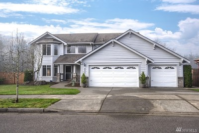 Tumwater Single Family Home For Sale: 3815 Cassie Dr SW