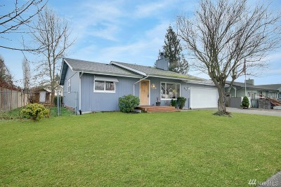 Puyallup Single Family Home For Sale: 921 13th St SW