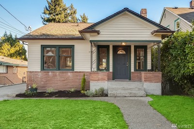 Seattle Single Family Home For Sale: 3916 24th Ave S