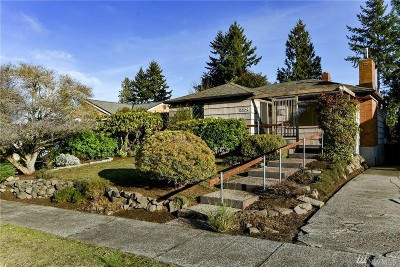 Seattle Single Family Home For Sale: 3824 52nd Ave SW