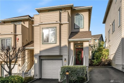 Renton Condo/Townhouse For Sale: 821 Sunset Blvd NE #E4