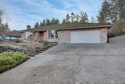 Pierce County Single Family Home For Sale: 6202 53rd St Ct W