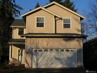 Olympia Single Family Home For Sale: 4538 20th Wy NE