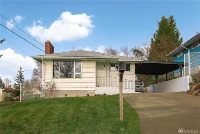 Seattle Single Family Home For Sale: 3202 S Chicago St