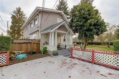 Tacoma Single Family Home For Sale: 6110 N 50th St