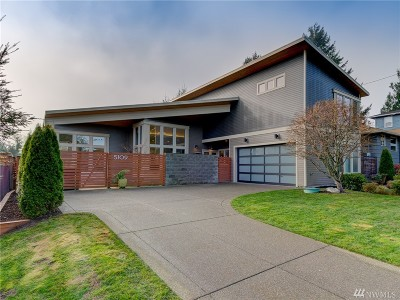 Seattle Single Family Home For Sale: 5109 SW Olga St