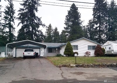 Spanaway Single Family Home For Sale: 237 160th St S
