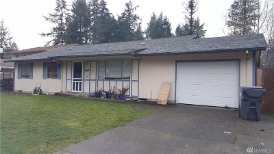 Steilacoom Single Family Home For Sale: 1202 Eleanor Ct