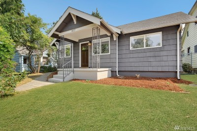 Single Family Home For Sale: 4617 Tacoma Ave S