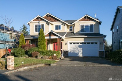 Bothell Single Family Home For Sale: 22 211th St SW