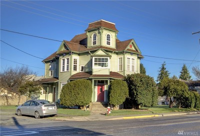 Whatcom County Multi Family Home Pending: 2501 F St