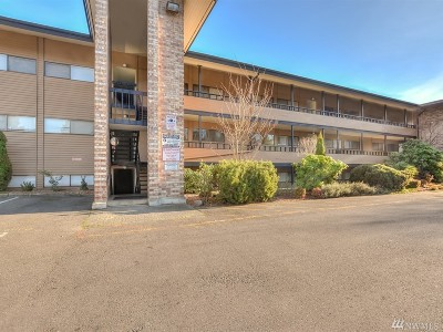 Seattle Condo/Townhouse For Sale: 11600 Rainier Ave South Ave S #104