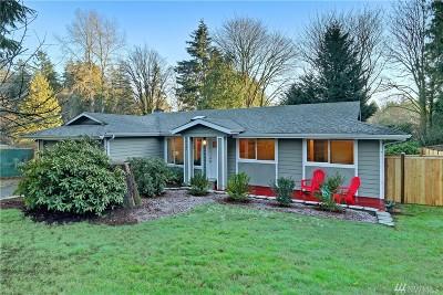 Kirkland Single Family Home For Sale: 10721 NE 138th Place