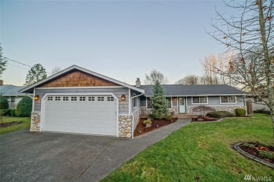 Puyallup Single Family Home For Sale: 823 18th St SW