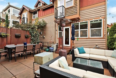 Seattle Single Family Home For Sale: 3142 Franklin Ave E #B