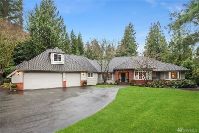 Woodinville Single Family Home For Sale: 19717 219th Ave NE