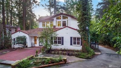 King County Single Family Home For Sale: 18241 Ballinger Wy NE