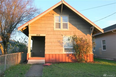 Centralia Single Family Home For Sale: 906 S Tower