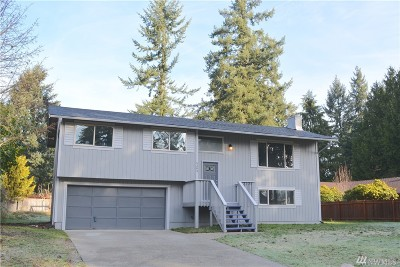 Spanaway Single Family Home For Sale: 5303 204th St Ct E