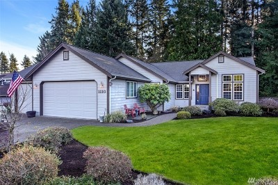 Gig Harbor Single Family Home For Sale: 1110 138th St NW