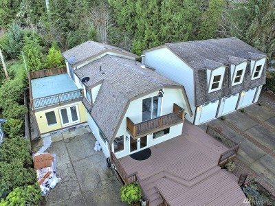 Shelton Single Family Home For Sale: 20 N Tillicum Beach Lane
