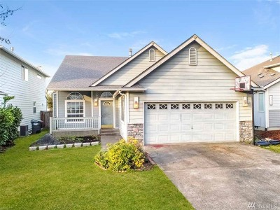 Puyallup Single Family Home For Sale: 9515 188th St E