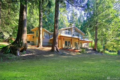 Issaquah Single Family Home For Sale: 25612 SE Tiger Mt Rd