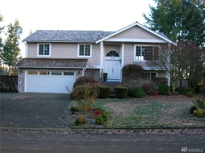 Puyallup Single Family Home For Sale: 9115 170th St Ct E