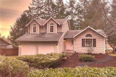 Shelton WA Single Family Home Sold: $249,000
