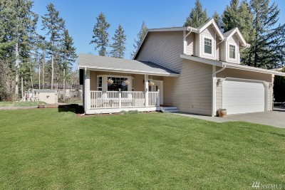 Gig Harbor Single Family Home For Sale: 3815 125th St NW