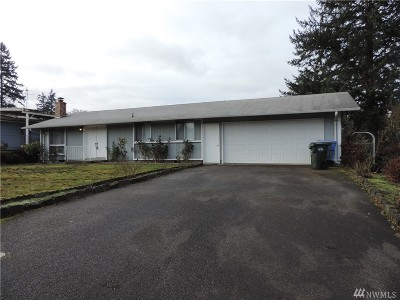 Spanaway Single Family Home For Sale: 16810 9th Ave E