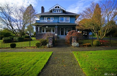 Snohomish Single Family Home For Sale: 312 D