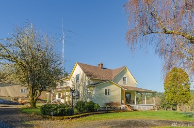Winlock Single Family Home For Sale: 1001 King Rd