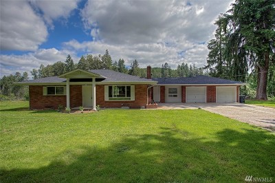 Orting Single Family Home For Sale: 28311 Orville Rd E