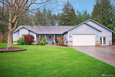 Olympia Single Family Home For Sale: 8932 Alderview Lane SE