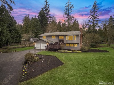 Woodinville Single Family Home For Sale: 15915 179th Place NE