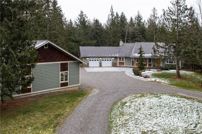 Bellingham Single Family Home For Sale: 5126 Stromer Rd