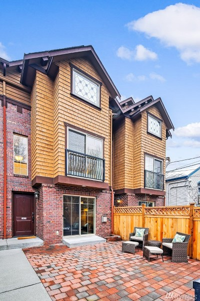 Seattle Single Family Home For Sale: 116 25th Ave E #B