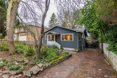 Seattle Single Family Home For Sale: 2554 NE 91st St