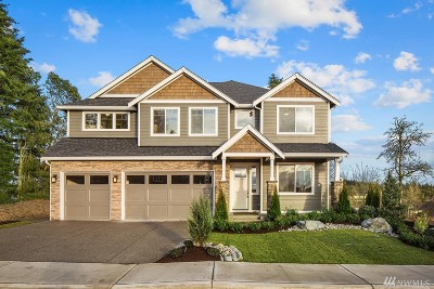 Gig Harbor Single Family Home For Sale: 7013 Teal Lp #Lot 4