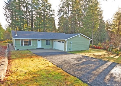 Shelton WA Single Family Home Sold: $229,500
