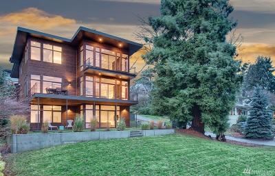 Seattle Single Family Home For Sale: 1501 Lake Washington Blvd S