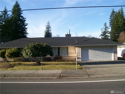 Everett Single Family Home For Sale: 10500 Holly Dr