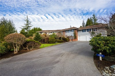 Anacortes Single Family Home For Sale: 3867 Bay Lane