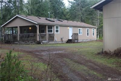 Hoodsport Single Family Home For Sale: 80 N Mallard Wy W