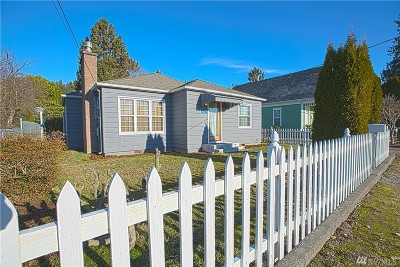 Burlington Single Family Home Pending Inspection: 617 E Hazel Ave
