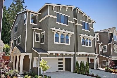 Kirkland Single Family Home For Sale: 7024 119th Way NE Unit A (Unit 11) #A