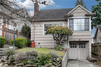 Seattle Single Family Home For Sale: 351 NW 76th St