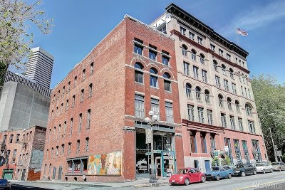 Seattle Condo/Townhouse For Sale: 606 Post Alley #90Y